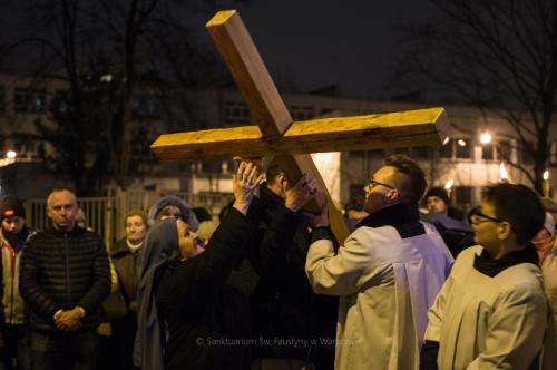 DROGA KRZYŻOWA ULICAMI NASZEJ PARAFII - 23.03.2018 r.